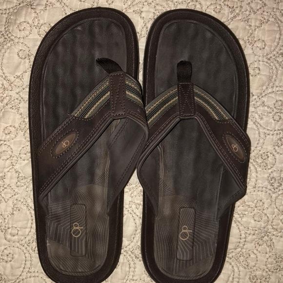 b72fc1b9ccf 🦄BOGO OP men s flip flops 12 worn once. M 5a88568e31a376598d9b2fd5